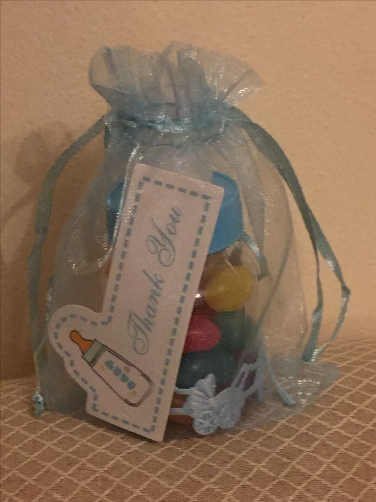 Boy Baby Shower Thank you gift