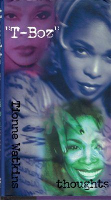 Thoughts Tionne Watkins T-Boz Hardcover Book 0061051837