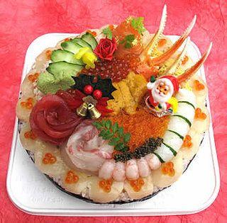 「ちらし寿司ケーキ」の画像検索結果