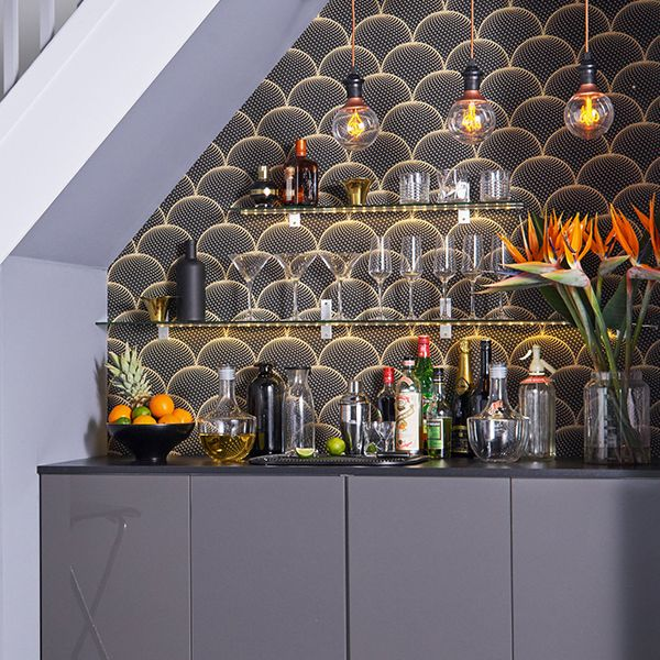 17 Best Ideas About Bar Under Stairs On Pinterest
