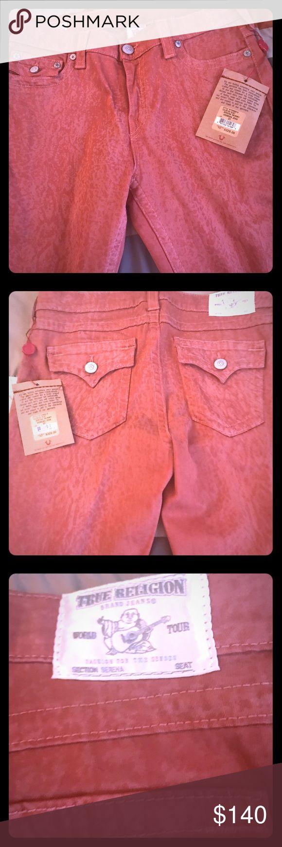 True Religion Jeans Rust; Serena Skinny Women's Jeans; True Religion Jeans Skinny