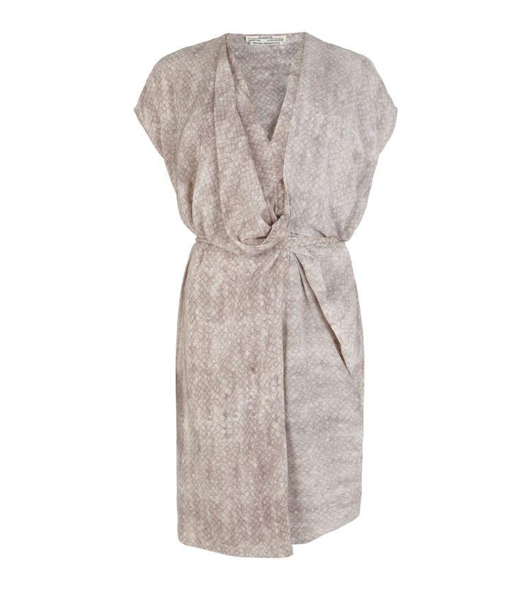 Simple Wedding Dresses John Lewis: Snake Dee Dee Dress, Women, New, AllSaints Spitalfields