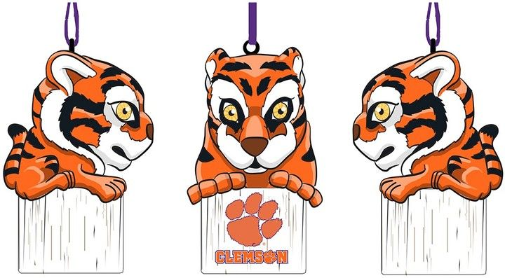 Clemson Mascot Ornament