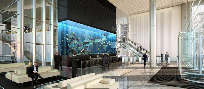 Heron Tower, London - The Aquarium, Kohn Pedersen Fox (KPF)