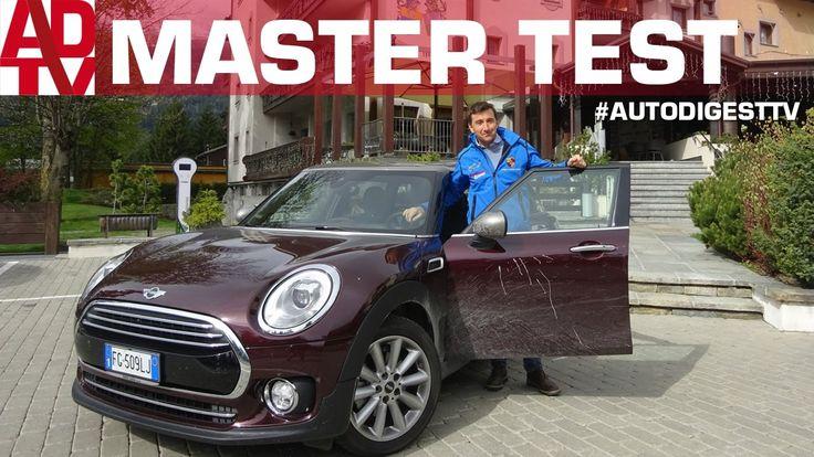 MASTER TEST: Lucio Da Zanche prova la Mini Cooper D Clubman