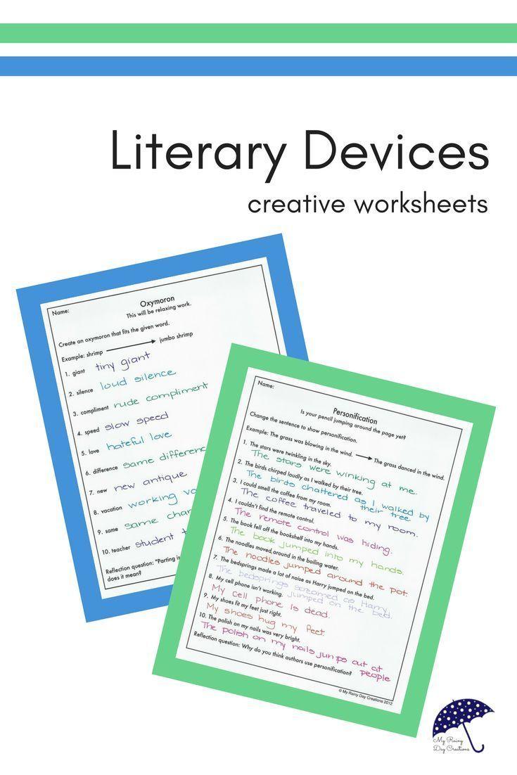 Figurative Language Worksheets Figurative Language Worksheet Language Worksheets Figurative Language
