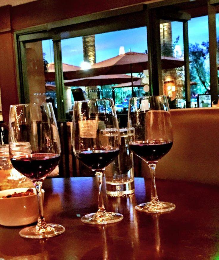 """New World"" #wine flight: Rancho Sisquic Tre Vini (Santa Barbara), Orin Swift Abstract (Napa Valley) and The Possessor (Paso Robles) | Bacchus Wine Bar and Bistro"
