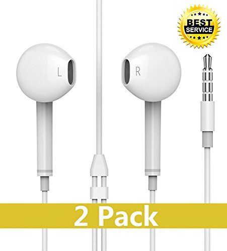 In Ear Headphones, Vowars iPhone Earbuds with Mic Stereo Earphones with Volume Control White  https://topcellulardeals.com/product/in-ear-headphones-vowars-iphone-earbuds-with-mic-stereo-earphones-with-volume-control-white/  Equipped with two high quality drivers, create dynamic stereo sound and strong deep bass, you can have much more wonderful listening experience. Stylish earbuds with ergonomic design, simply conform to your ears and not easy to fall out even when doing ex