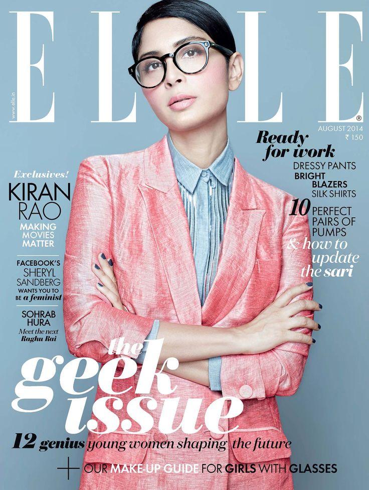 Kiran Rao for Elle India August 2014