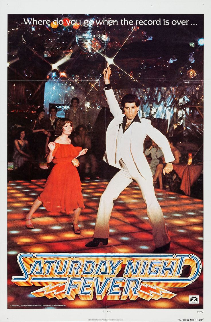 Fiebre del Sábado Noche (Saturday Night Fever), de John Badham, 1977