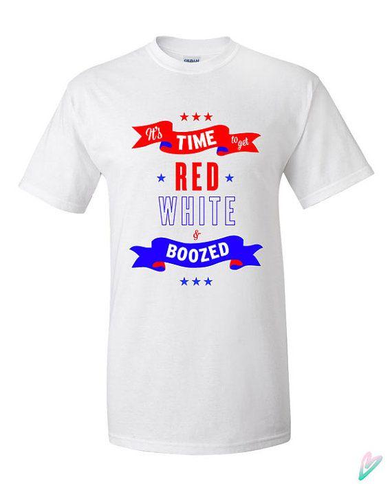 4th of July Funny Patriotic T-shirt Tshirt Tee Shirt by TeenieTees