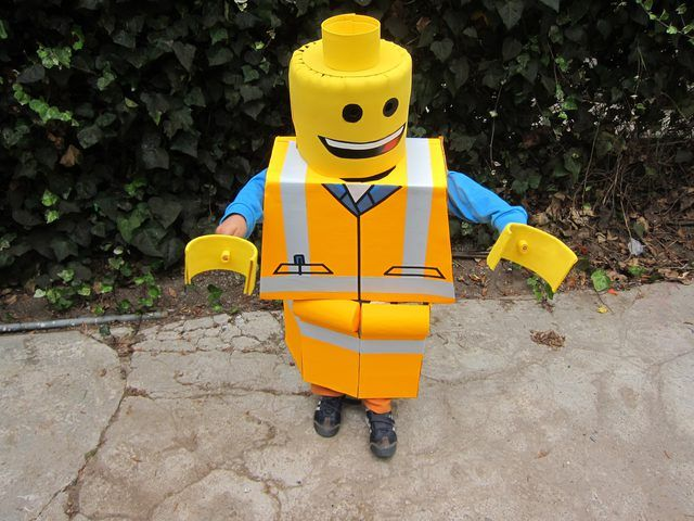Your LEGO Construction Worker is ready!
