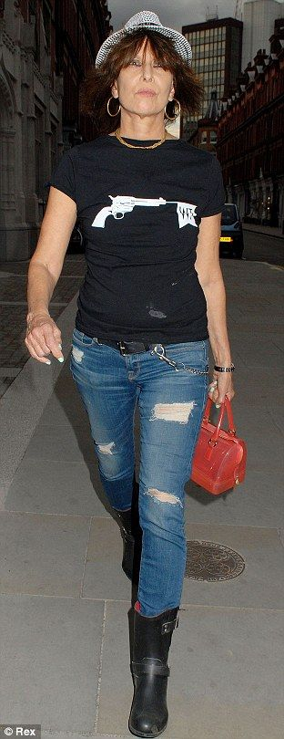 Chrissie Hynde July 2014 - she is in her SIXTIES.
