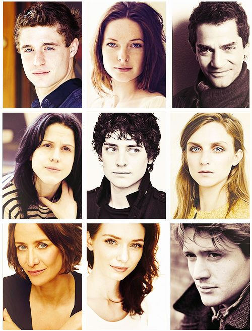 I LOVE THIS ~ THE WHITE QUEEN / CAST PHOTOS
