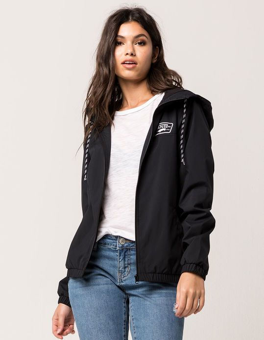 c427ea6e8a Image result for vans black windbreaker