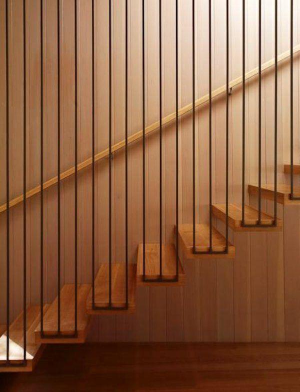 moderne treppen interessante geländer