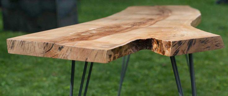 Live-edge table
