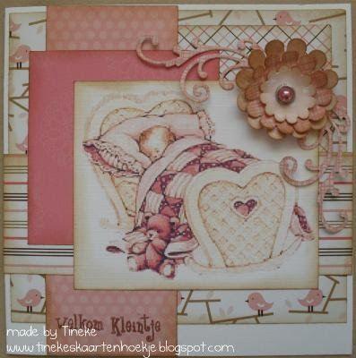 Tineke's kaartenhoekje: Babykaartjes