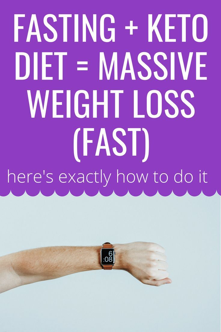 Keto Fasting For Fast Weight Loss?