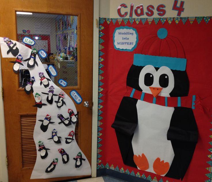 My Classroom Door With My Sweet Little Ones Penguin Feet