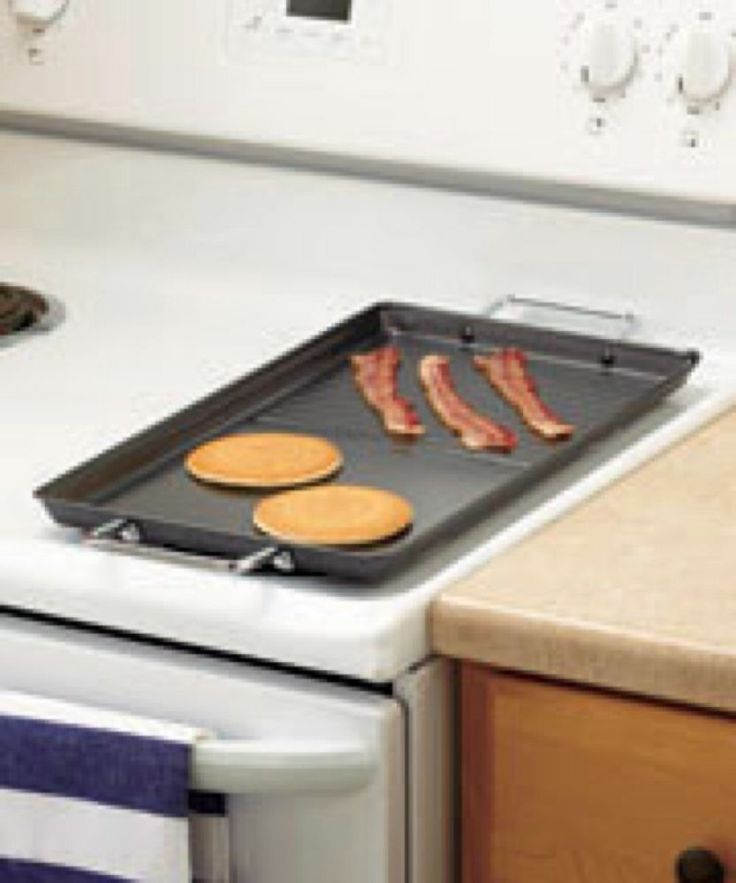 Pro Chef Griddle 2 Burner Stove Top 18 X 10 1 8 Metal
