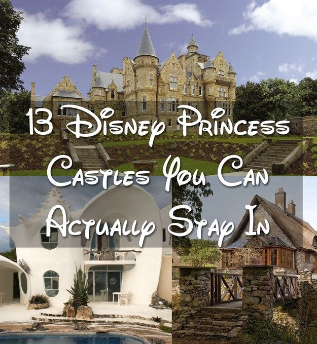 Time to start traveling: 13 Disney Princess Castles You Can Actually Stay In