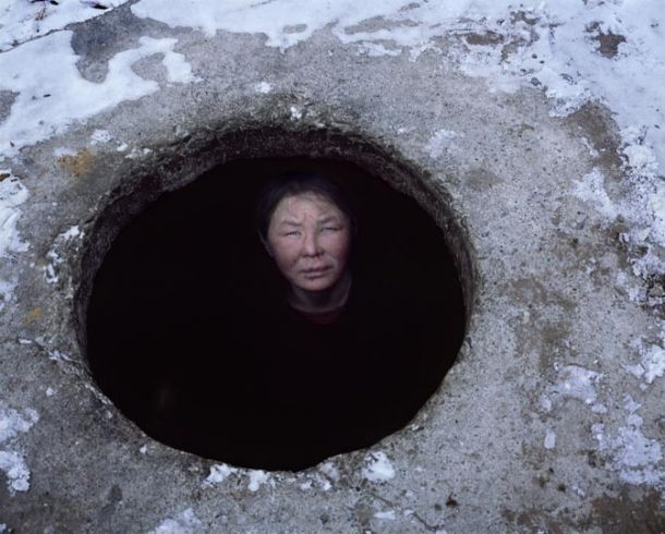 The homeless of Ulan Bator, Mongolia, live in hot water pipes underground - every nation has its own mole people...