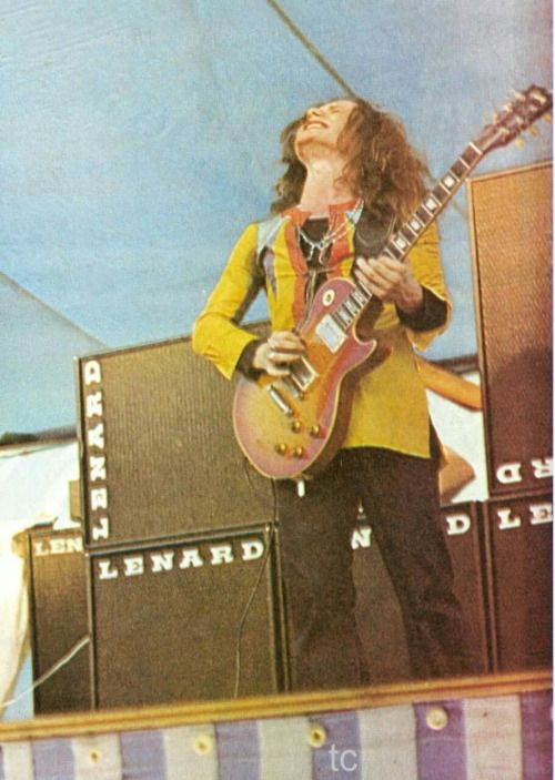 """Paul Kossoff: Free / Back Street Crawler..Kossoff's """"shake and bend"""" technique influenced virtually every guitarist to follow. It was sad that he never really did much following the demise of Free and his untimely death"""