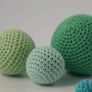 Karen Klarbæks Verden: DIY Opskrift på hæklede bolde/kugler