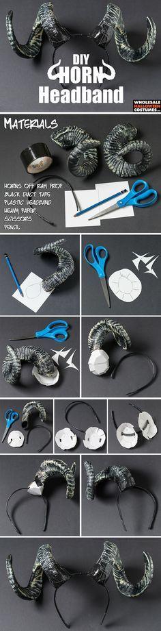 DIY Horn Headband