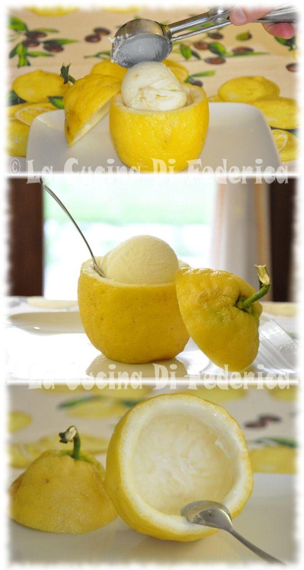 La cucina di Federica: Gelato al limone
