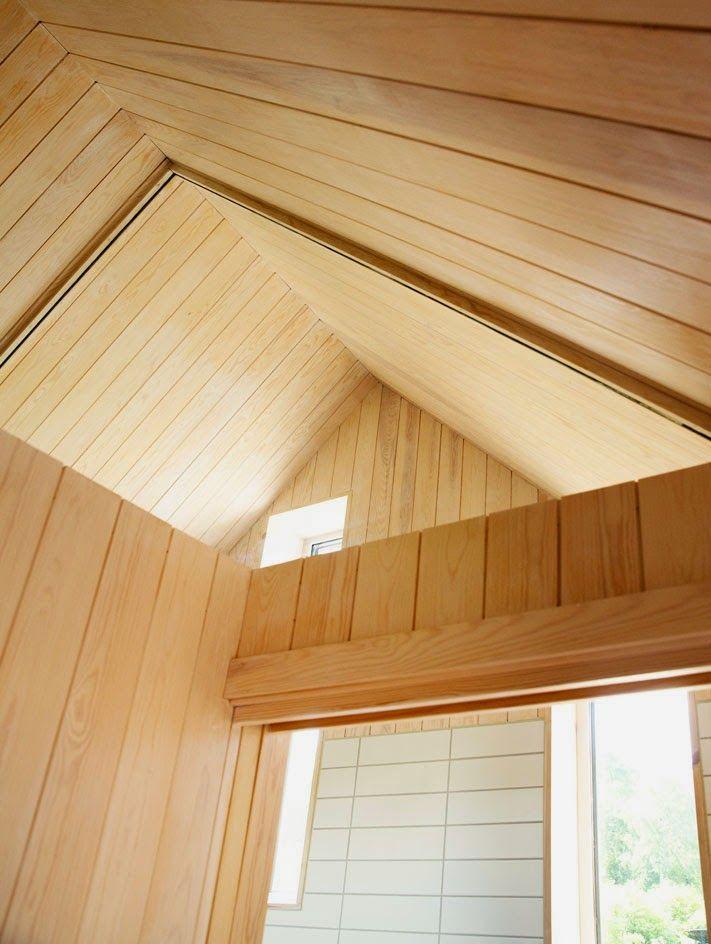 ilia estudio interiorismo: Pequeñas cabañas individuales, diseño rural en Noruega.