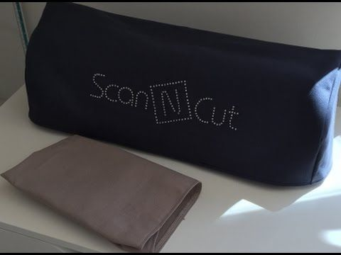 ScanNCut - Cutting Fabric with Freezer Paper - YouTube