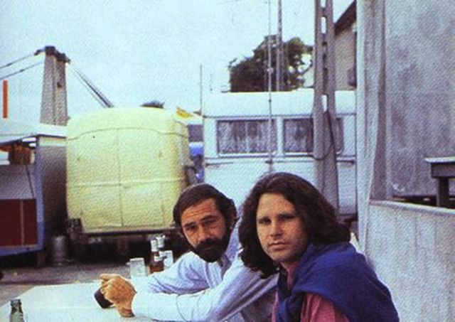 vintage everyday: Last Known Photos of Jim Morrison in Paris on June 28, 1971