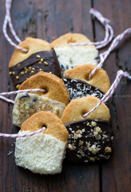 Biscuits sachet de thé | tea bag biscuits | Jujube en cuisine