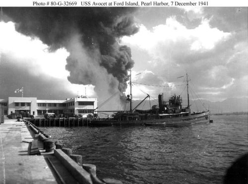 12-4X6-PHOTOS-PEARL-HARBOR-RAID-DEC-7-1941-PACK-2-WW2-WWII