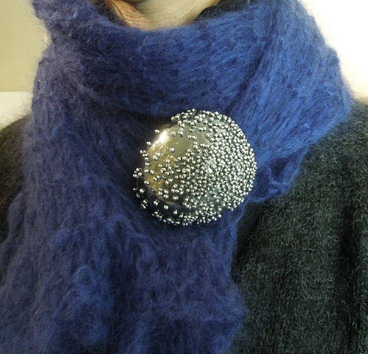Giorgio Vigna's brooch@Etnie Galleria