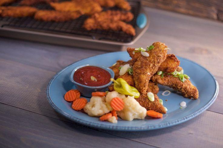 Ritz Cracker Chicken Fingers with Sriracha Soy Ketchup.jpg