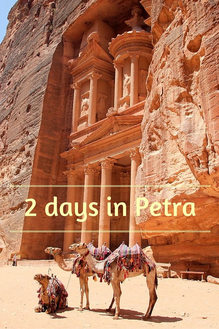 Visiting Petra in Jordan in 2 days. What to see in Petra? Where are off-the-beaten-path trails? How much does it cost and where to sleep? All in post!
