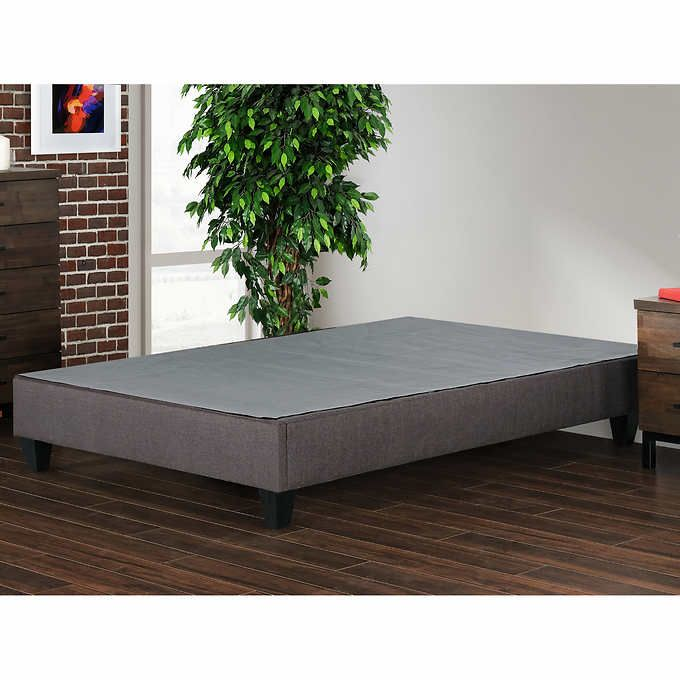Costco Excel Double Bed Base In Grey Bed Base Bed Double Beds