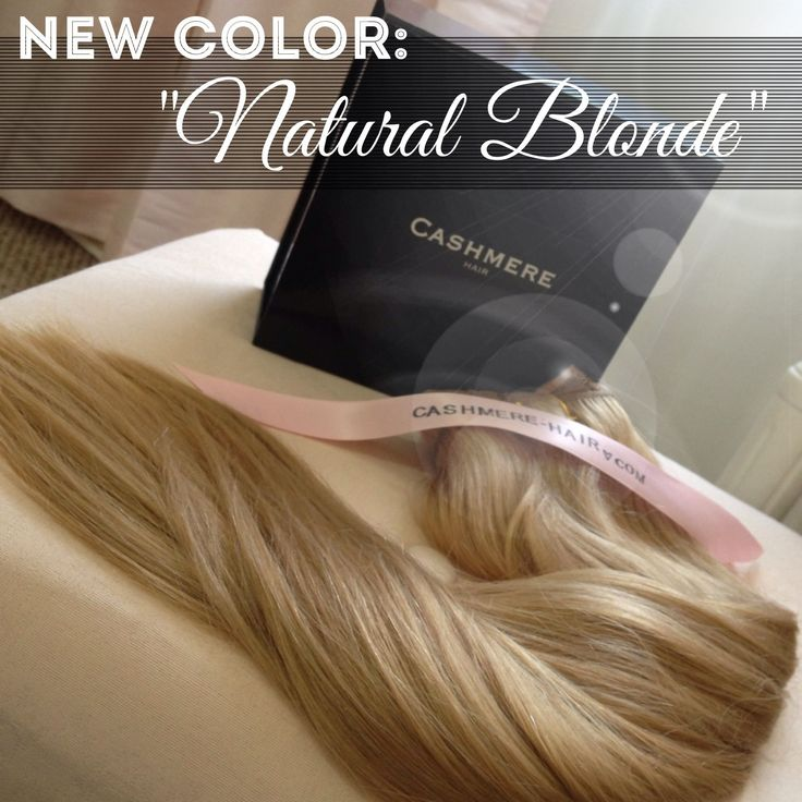 """New color """"natural blonde"""" order your swatch now!!! Http://www.cashmere-hair.com best hair extensions! CASHMERE HAIR HIGH QUALITY BEST CLIP-IN HAIR EXTENSIONS!   beauty hairstyle blonde brunette hair how to grow your hair longer how to curl your hair wedding day hairstyle wedding hair bride bridal photo"""