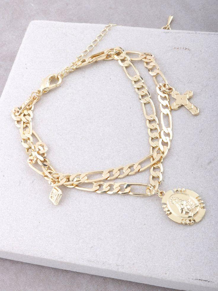 Prayer Circle Chain Bracelet