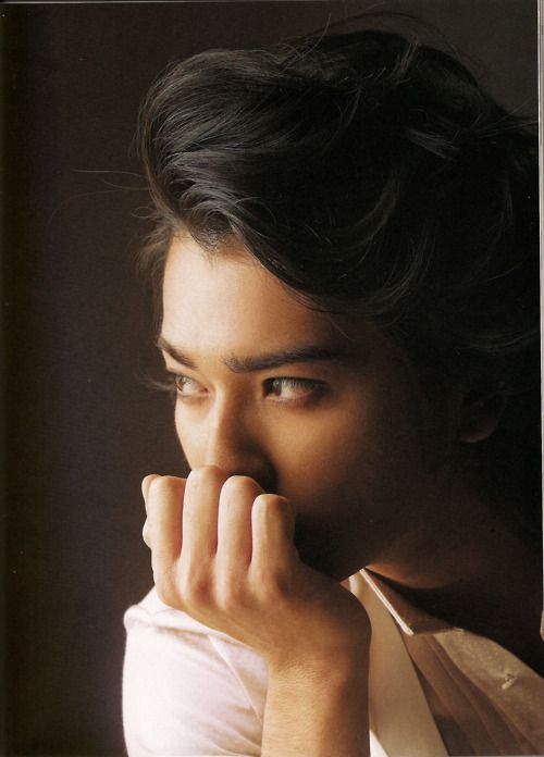 Matsujun  matsumoto jun 3 3  Just shut up with your hair, Matsumoto Jun, nngh. 3
