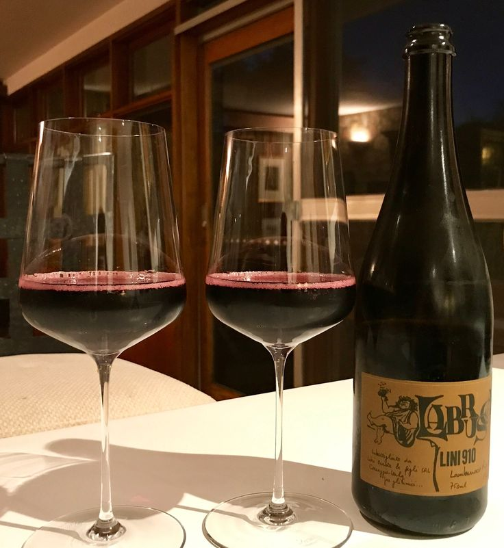 Lambrusco and Pilu porchetta on Franz's first night home from hospital (20.8.17) Robbie's