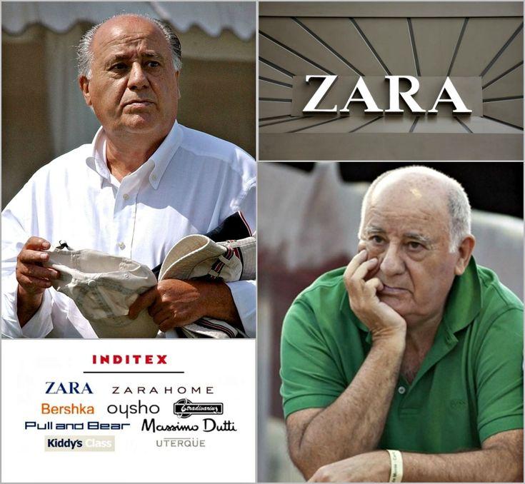 Король одежды: основатель Zara Амансио Ортега 9 сентября возглавил рейтинг богатейших людей мира по версии Forbes