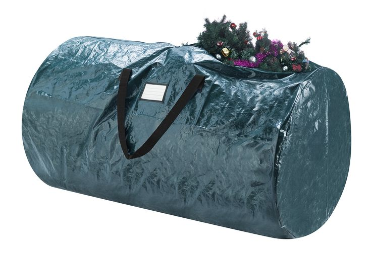 2 Piece Deluxe Green Christmas Tree Storage Bag Set