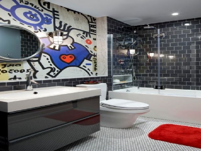 Boy girl bathroom ideas for Boys bathroom designs