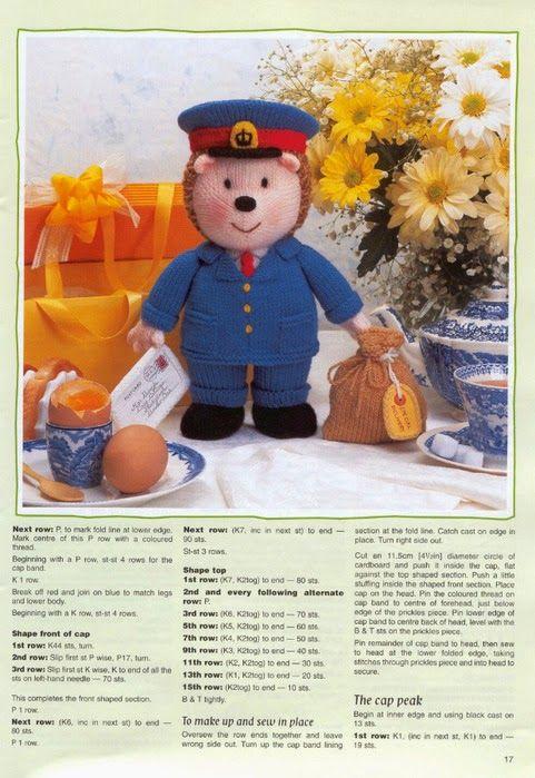 "Кукляндия: Журнал ""Ежи"" ( Knitted Hedgehogs by Jean Greenhowe)"