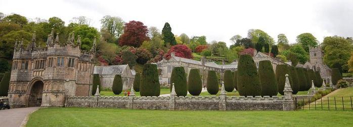 Готик-Рок: Замок Lanhydrock, графство Корнуолл.