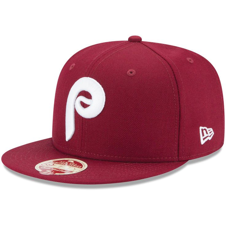 Philadelphia Phillies New Era Cooperstown Collection Classic Wool 59FIFTY  Fitted Hat - Maroon - $34.99